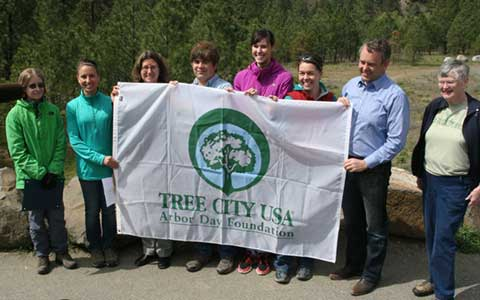 A special Arbor Day in Spokane