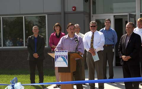 Ben Stuckart Central Service Center Ribbon Cutting