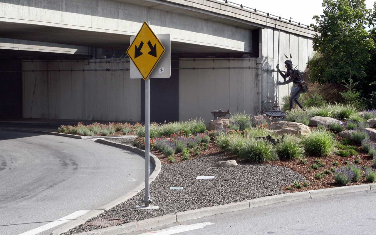 I-90 and Division Gateway Artwork