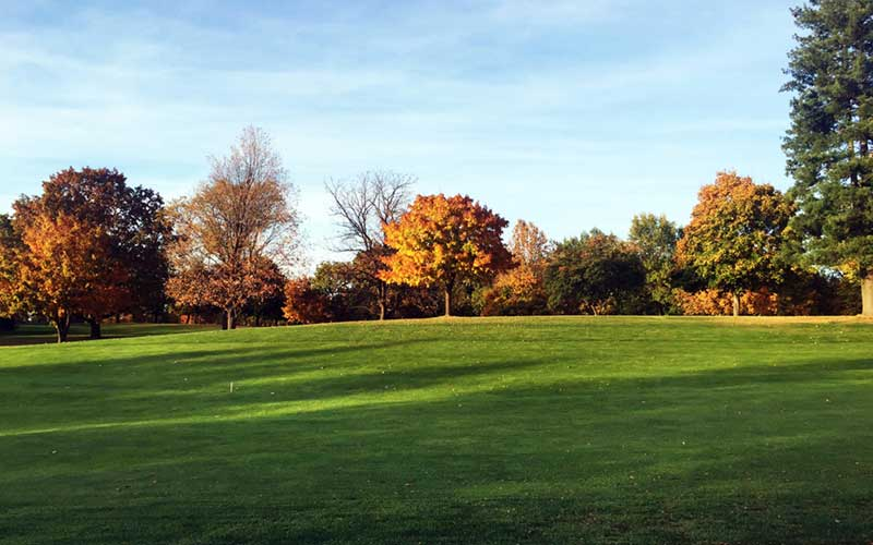Esmeralda Golf Course Autumn