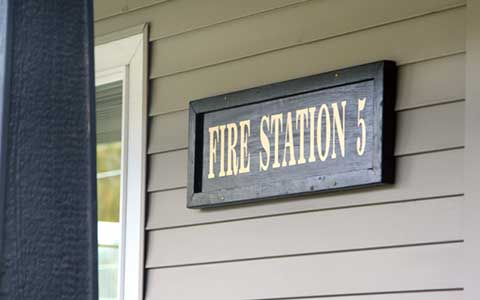 Fire Station 5 sign