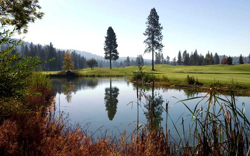 Qualchan Golf Course Pond