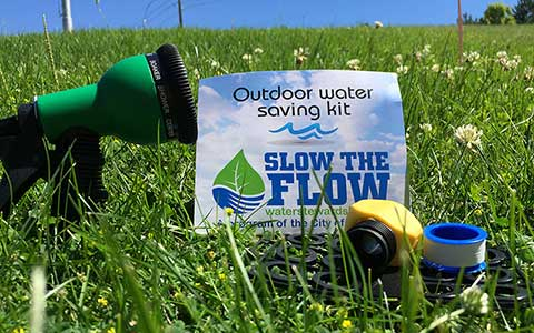 Outdoor Water Saving Kit