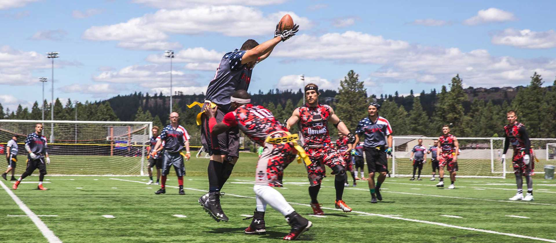 Sports Recreation Flag Football - City of Spokane, Washington