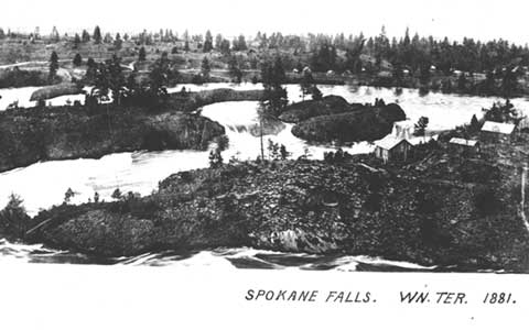 Spokane Falls Winter 1981