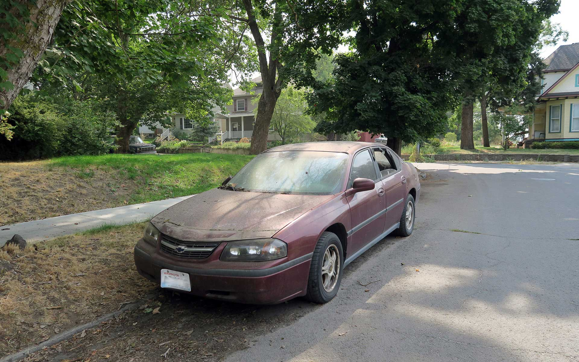 Is There An Abandoned Vehicle In Your Neighborhood City Of Spokane Washington
