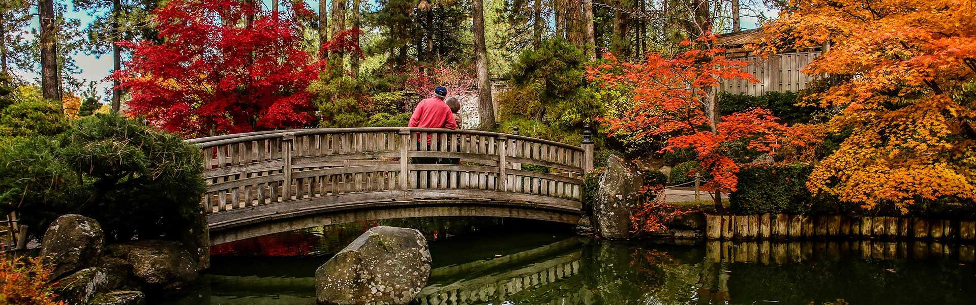 Nishinomiya Tsutakawa Japanese Garden City Of Spokane Washington