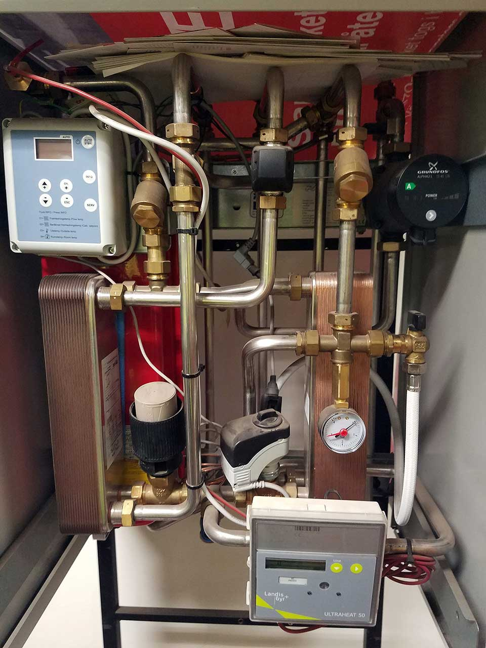 Vaxjo Heat Exchanger System