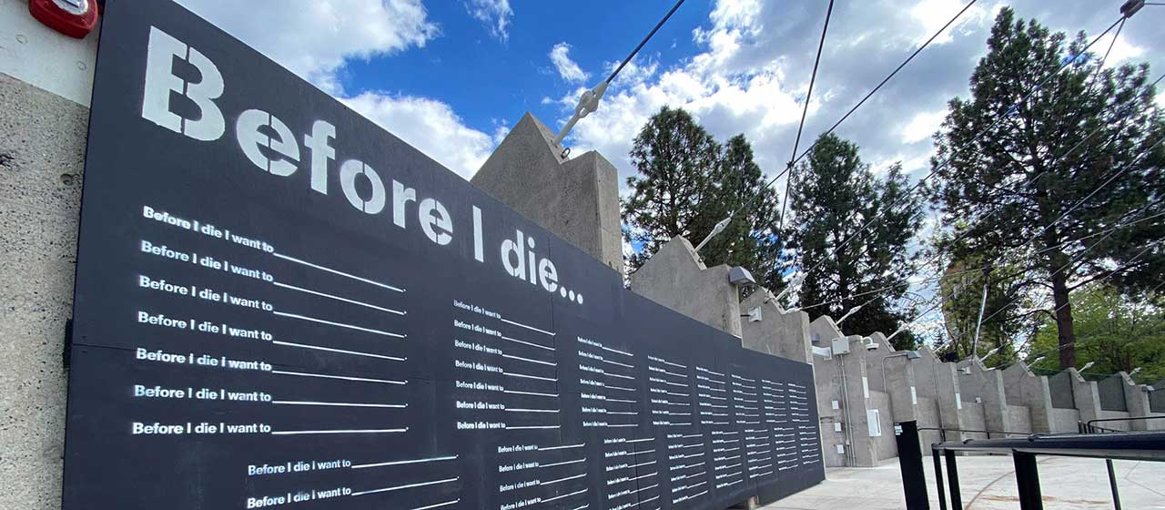 Before I Die Art Project Template