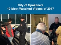 Spokane's 10 Most Watched Videos of 2017